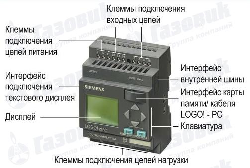 контроллеров Siemens LOGO