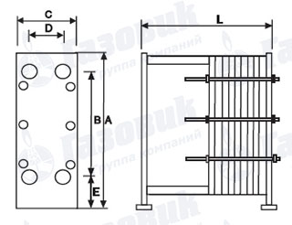 Машимпэкс vt20 Пластины теплообменника Alfa Laval M15-BDFG Липецк